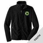 Y217 - S249-S10.0-2017 - Emb - Youth Fleece Jacket (Uniform-Approved)